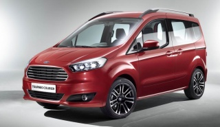 Ford Courier: от пикапа до фургона